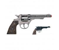 Игрушечный ковбойский револьвер Gonher 8 пистонов 80/0 металл