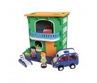 Конструктор Bebox Городской домик