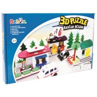 "3D Puzzle Bebox М5902 ""Полицейский участок"""