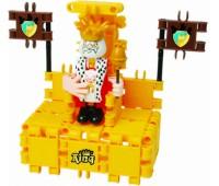 """Конструктор Clics """"Король на троне"""" 44 детали"""