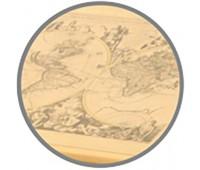 СУТ.14М-14 Растущая парта ДЭМИ Nature 75х55 см с задней двухъярусной полкой из массива березы