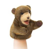 Коричневый медвежонок 18см