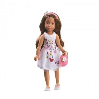 0126852 Кукла София Kruselings в летнем праздничном платье, 23 см