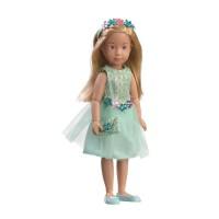 0126853 Кукла Вера Kruselings в нарядном платье для вечеринки, 32 см