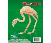 Сборная деревянная модель Фламинго (Е024)