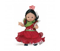 00602 Кукла-пупс севильянка, 21см