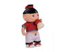 03050 Кукла-пупс Гвидо Пью и писаю, мальчик азиат, 22 см