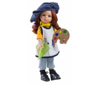 04652 Кукла Кристи художница, 32 см НОВИНКА 2018 ГОДА