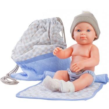 Кукла Бэби с рюкзаком и одеяльцем
