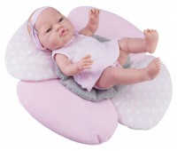 Кукла Бэби с подушкой-цветок