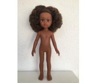 14440 Кукла Нора  б/о, 32 см (волосы кудрявые, глаза коричневые)
