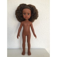 Кукла Нора б/о, 32 см (волосы кудрявые, глаза коричневые)