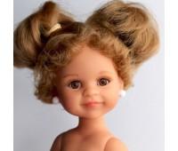 """14608 Кукла Клео б/о, 32 см (блондинка, прическа """"старой школьницы"""", глаза медовые, веснушки)"""