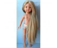 14813 Кукла Карла без одежды, 32 см ( без челки, глаза голубые, волосы до щиколоток, пробор прямой)