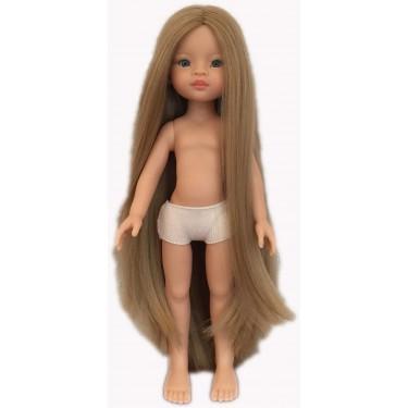 14823 Кукла Маника б/о, 32 см (глаза голубые, волосы до щиколоток, пробор прямой)