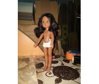 15028 Кукла Нора, 32 см (волосы прямые, пробор по центру, глаза карие)