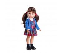 Комлект (одежда+обувь) для куклы Кэрол школьница 32 см