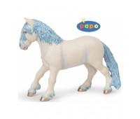 Волшебный пони голубой