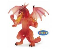 38981 Дракон огненный прозрачный