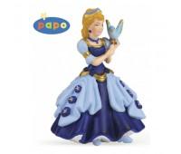 39035 Голубая принцесса с птицей
