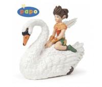 39076 Маленький эльф на лебеде