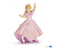 39126 Принцесса в розовом на коньках