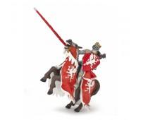 Конь короля драконов красный