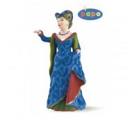 39393 Средневековая прекрасная леди синяя