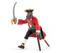 Капитан деревянная нога красный
