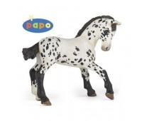 51540 Жеребенок черной апалузской лошади