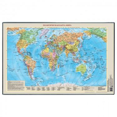 """Покрытие настольное """"Карта Мира"""""""