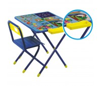 Набор детской складной мебели №1 с пеналом