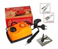 Прибор для выжигания с гильошированием УЗОР (Выжигание по дереву и по ткани)