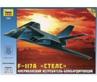"""Сборная модель Американский истребитель-бомбардировщик F-117A """"Стелс"""" (7226)"""