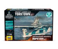 Сборная модель Авианосец Йорктаун (бонусный код World of warships) (9203)